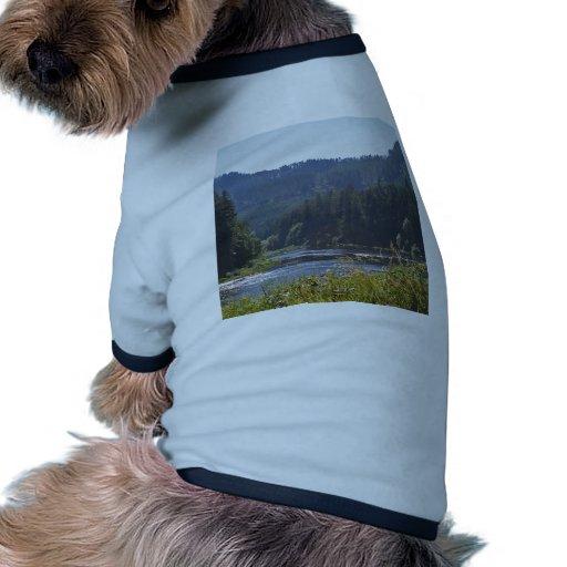 El río de Umpqua, Oregon Camisas De Mascota