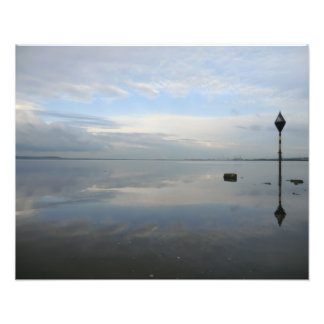 El río Dee en el pedernal que parece del este Fotografías