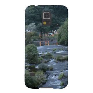 El río Dee, en Llangollen, Denbighshire, País de Carcasa Para Galaxy S5