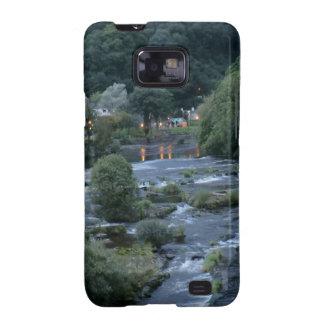 El río Dee, en Llangollen, Denbighshire, País de Samsung Galaxy S2 Carcasa