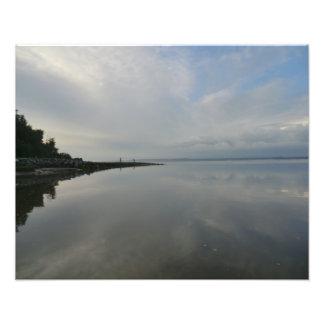 El río Dee en pedernal Fotografías