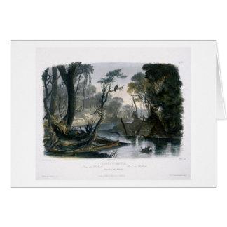 El río del atajo, rama del Wabash, platea 8 de V Tarjeta De Felicitación