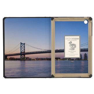 El río Delaware puente de Ben Franklin