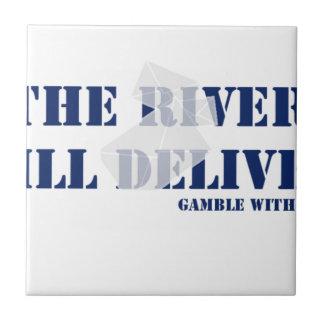 El río entregará azulejo cuadrado pequeño