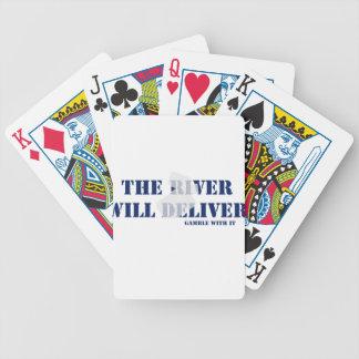 El río entregará baraja de cartas