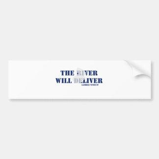 El río entregará pegatina para auto