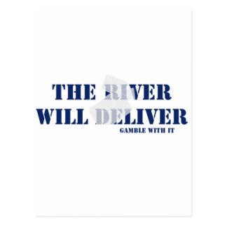 El río entregará postales
