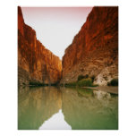 El Rio Grande, curva grande NP, Tejas Poster