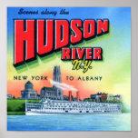 El río Hudson Nueva York a Albany Poster