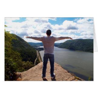 El río Hudson, Nueva York Tarjeta De Felicitación