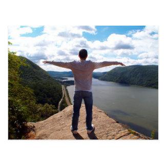 El río Hudson, Nueva York Tarjetas Postales