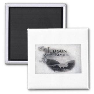 El río Hudson Nueva York vintage 1921 Imanes Para Frigoríficos