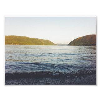 El río Hudson Impresion Fotografica