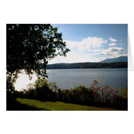 El río Hudson - señorío de Clermont Felicitacion