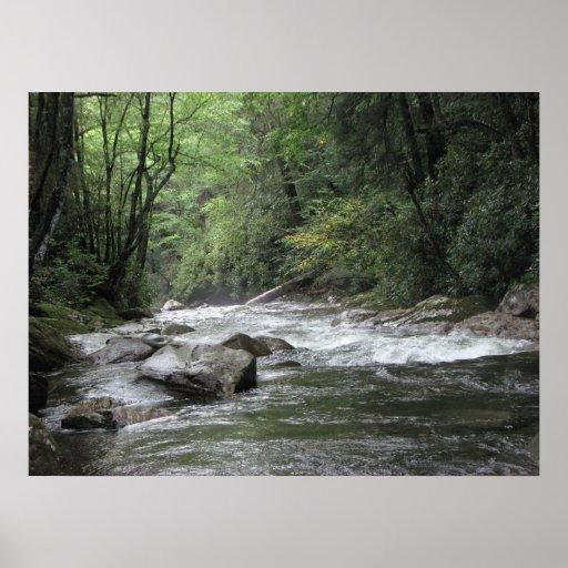 El río Little Pigeon Impresiones