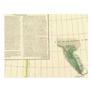 El río Mackenzie, el Yukón Postal