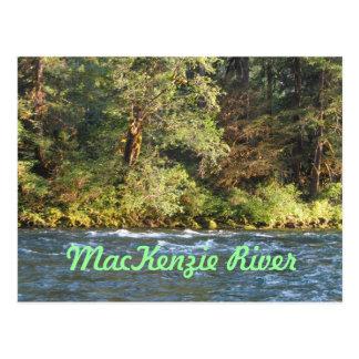 El río Mackenzie -- Oregon Postal