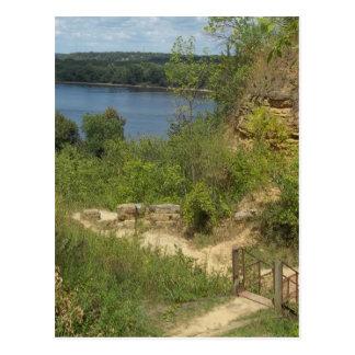 El río Misisipi pasa por alto Postales