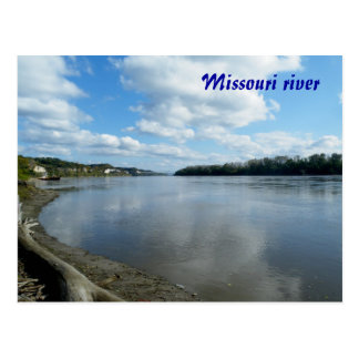 El río Missouri Postal