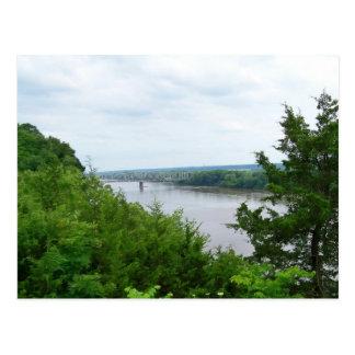 El río Missouri Postales