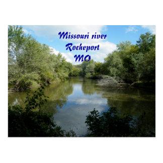 El río Missouri Tarjetas Postales