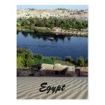 el río Nilo Egipto Postales