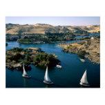 El río Nilo Postales