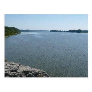 El río Ohio del Gazebo Postal
