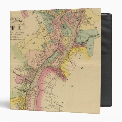 """El río Ohio y valle superiores 10 Carpeta 1 1/2"""""""