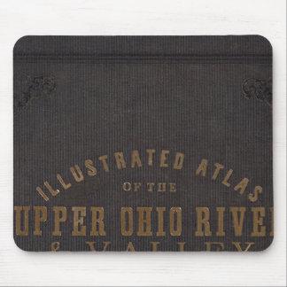 El río Ohio y valle superiores 11 Alfombrillas De Raton