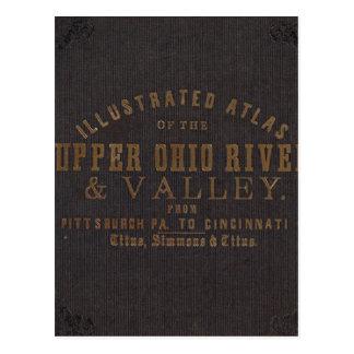 El río Ohio y valle superiores 11 Tarjetas Postales