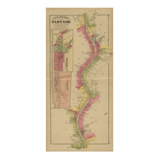 El río Ohio y valle superiores 2 Poster