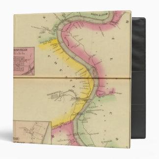 """El río Ohio y valle superiores 3 Carpeta 1 1/2"""""""