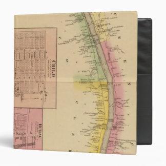 """El río Ohio y valle superiores 4 Carpeta 1 1/2"""""""