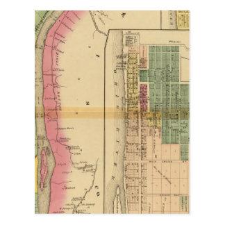 El río Ohio y valle superiores 9 Postales