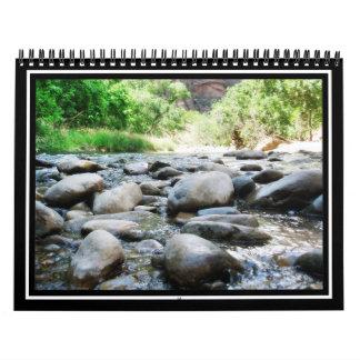 El río oscila @ el río de la Virgen Calendarios De Pared