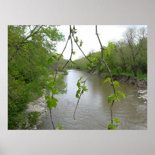 El río póster