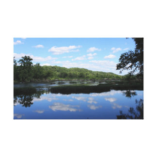 El río Potomac Impresión En Lona