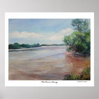 El río que sube por Sue Ana Jackson Impresiones
