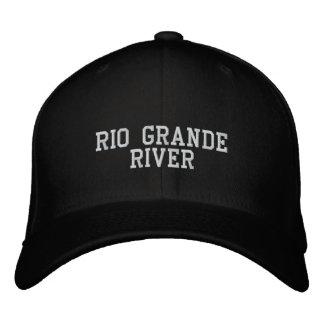 El río Rio Grande Gorra De Beisbol Bordada