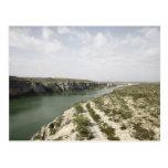 El río Rio Grande, Tejas, los E.E.U.U. Postales