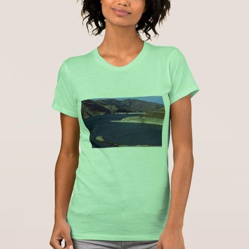El río Snake contenido, Idaho Camiseta