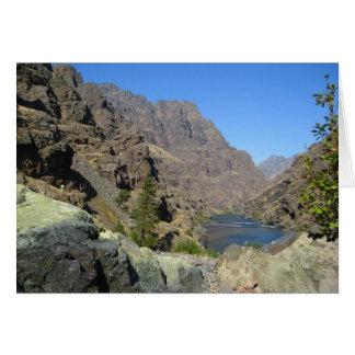 El río Snake Tarjeta Pequeña