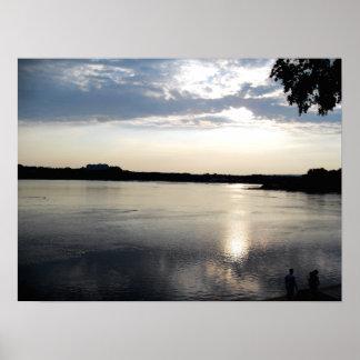 El río Susquehanna Impresiones