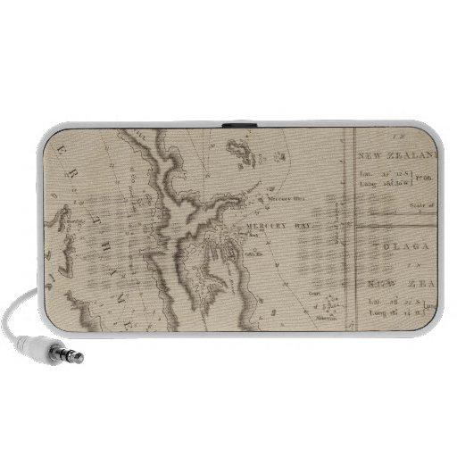 El río Támesis, bahía de Mercury, Nueva Zelanda Laptop Altavoces