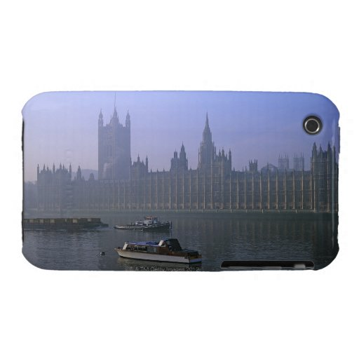 El río Támesis y casas Case-Mate iPhone 3 Protectores