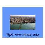 El río Tigris Mosul, Iraq