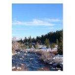 El río Truckee Postal
