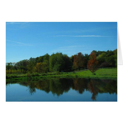 El río Wisconsin Tarjeta Pequeña