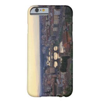 El río y el Ponte Vecchio de Arno en Florencia, Funda Para iPhone 6 Barely There